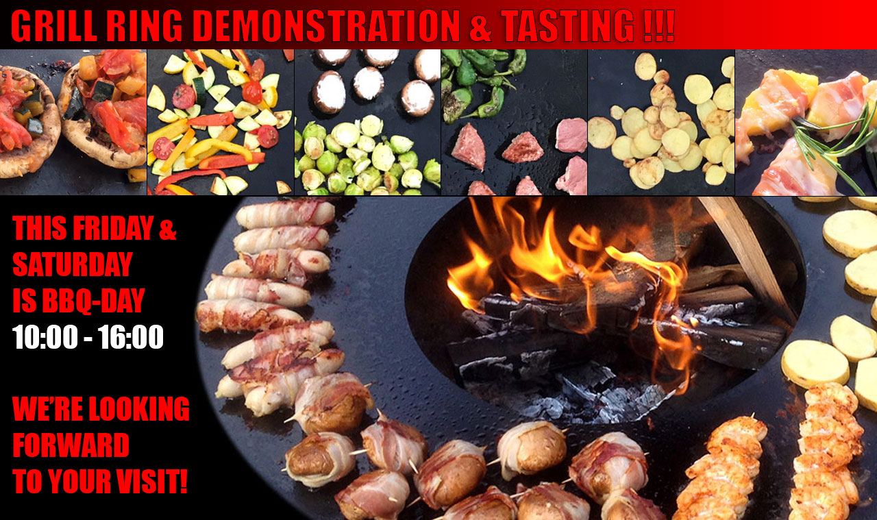 Grill Ring Demonstration & Tasting - This Friday & Saturday @ Grillland