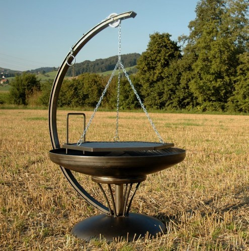 feuerschale stahl ben. Black Bedroom Furniture Sets. Home Design Ideas